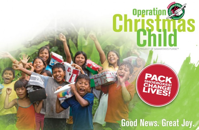 operation christmas child national collection week for shoeboxes - Operation Christmas Child Shoebox