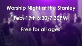 Worship Night at Stanley Theater
